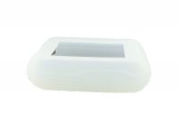 Чехол силиконовый для брелока SL E60, E90, E61, E91 Dialog, цвет прозрачный
