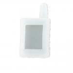 Чехол силиконовый для брелока Scher-Khan Magicar A, B, цвет прозрачный
