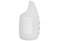 Чехол силиконовый для брелока Scher-Khan Magicar 5, 6, цвет прозрачный