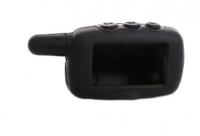 Чехол силиконовый для брелока SL A4, A6, A8, A9, цвет черный