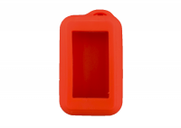 Чехол силиконовый для брелока SL E60, E90, E61, E91 Dialog, цвет красный