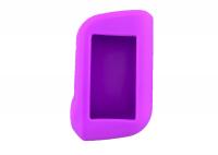 Чехол силиконовый для брелока StarLine A63, A93 Dialog, цвет фиолетовый