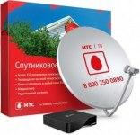 Комплект спутникового телевидения МТС (EKT DSD 4404, ант. 0,6, Конвертор, Кабель, смарт-карта) 1 мес
