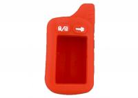 Чехол силиконовый для брелока Tomahawk TZ-9010, 9020, 9030, цвет красный