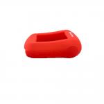 Чехол силиконовый для брелока SL A62, A92, А94 Dialog, цвет красный
