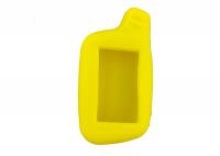 Чехол силиконовый для брелока Tomahawk X3, X5, цвет жёлтый