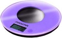 Весы кухонные Maxima MS-067, цвет фиолетовый