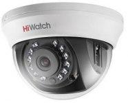 Видеокамера HiWatch DS-T101 (2,8мм), 1Мп, HD-TVI, CVBS, купольная