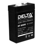 Аккумулятор 6 В 2,8Ah Delta DT