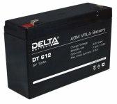 Аккумулятор 6 В 12Ah Delta DT
