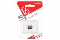 Карта памяти 16 Гб Smartbuy microSDHC Cl 10