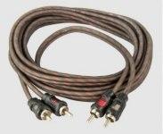 Межблочный кабель Aura RCA-0230, 2RCA шт + 2RCA шт, длина 3м