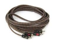 Межблочный кабель Aura RCA-0250, 2RCA шт + 2RCA шт, длина 5м