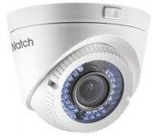 Видеокамера HiWatch DS-T119 (2,8-12мм), 1Мп, HD-TVI/CVBS, купольная
