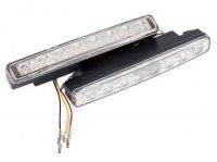 Дневные ходовые огни Lamper 80-1129, 16 диодов, указатель поворота
