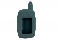Чехол силиконовый для брелока Tomahawk TW-9010, 9020, 9030, узкая антенна, цвет серый