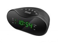 Часы Сигнал CR-152 сетевые (радио) зеленые