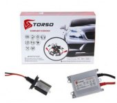 Комплект ксенона TORSO H4S-L 5000K, AC, переменный ток