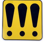 Наклейка-знак на авто Очень начинающий водитель