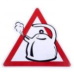 Наклейка-знак на авто Чайник