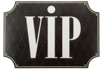 Наклейка на авто VIP