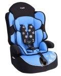 Кресло детское Siger Драйф, группа 1/2/3, возраст 1-12 лет, вес ребенка 9-36 кг, цвет голубой