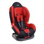 Кресло детское Siger Кокон, группа 1/2, возраст 1-7 лет, вес ребенка 9-25 кг, цвет красный