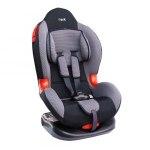 Кресло детское Siger Кокон, группа 1/2, возраст 1-7 лет, вес ребенка 9-25 кг, цвет серый