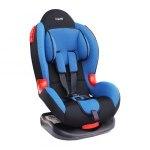 Кресло детское Siger Кокон, группа 1/2, возраст 1-7 лет, вес ребенка 9-25 кг, цвет синий