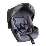 Кресло детское Siger Эгида Люкс, группа 0+, возраст 0-1,5 года, вес ребенка 0-13 кг, цвет серый