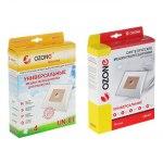 Мешок для пылесоса (пылесборник) универсальные синтетические OZONE micron UN-01, 4 шт.