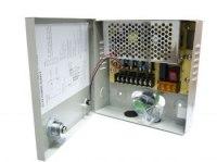 Блок питания 12в 3А для видеокамер, на 4 выхода Орбита VD-910