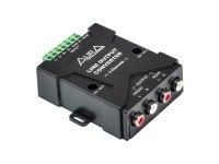 Линейный преобразователь Aura RHL-0604, 4х канальный RCA адаптер высокого уровня