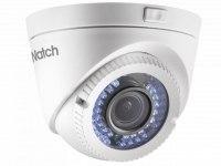 Видеокамера HiWatch DS-T109 (2,8-12мм), 1Мп, HD-TVI, CVBS, вариофакальная, купольная