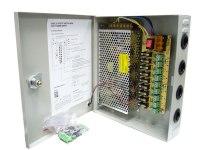 Блок питания Орбита VD-911, 10А, 220/12В, 9 выходов, для видеокамер