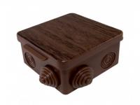 Коробка распределительная 80*80*50 IP54 7 входов с крышкой БУК ОП TDM