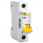 Автоматический выключатель 1-фазный 1,6А х-ка С ИЭК