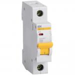 Автоматический выключатель 1-фазный 5А х-ка С ИЭК