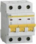 Автоматический выключатель 3-фазный 50А х-ка С ИЭК