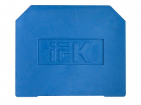 Заглушка для ЗНИ-10мм2 (JXB70A) синий ИЭК