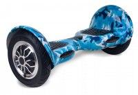 Гироскутер Smart Balance 10 с балансом, синий камуфляж