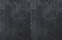 Гирлянда Светодиодный Дождь наружняя 2х3м белая, 800 светодиодов, темная нить