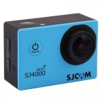 Экшн-камера SJCAM SJ4000 WiFi, цвет синий