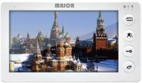 Монитор Major Alfa WS, для видеодомофона, дисплей 7, цвет белый-серебро