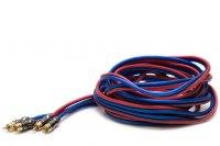 Межблочный кабель Pride RCA Diamond, 2RCA шт + 2RCA шт, длина 5м