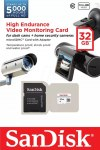 Карта памяти 32 Гб Sandisk Video Monitoring microSDHC Cl 10