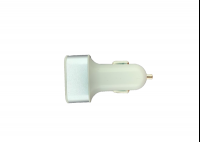 Автомобильный зарядник USB 3100мА, 3 USB-порта, Belsis 1305 белый