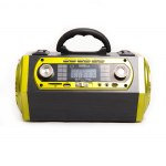 Радиоприемник Energy с фонариком, USB, SD, АКБ 1200мА/ч, 220В, 4xR20