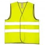 Автомобильный жилет, светоотражающий, аварийный, размер  XXXL, цвет желтый