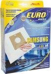 Мешок для пылесоса (пылесборник) SAMSUNG, 4шт., синтетические, многослойные, EUROCLEAN E-03/4